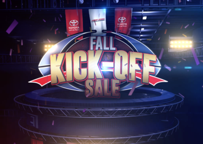Fall Kick-Off Sale